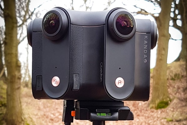 Kandao Obsidian camera, used for producing 360 videos