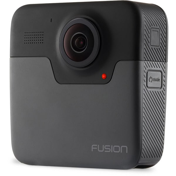 Image of the GoPro Fusion - an excellent action cam for capturing VR videos