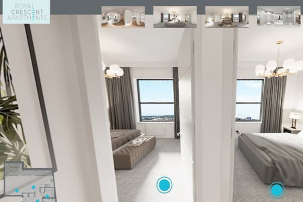 Virtual tour apartment image